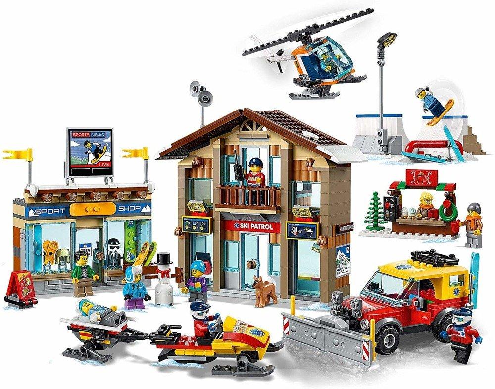 Klocki LEGO City 60203 Kurort narciarski